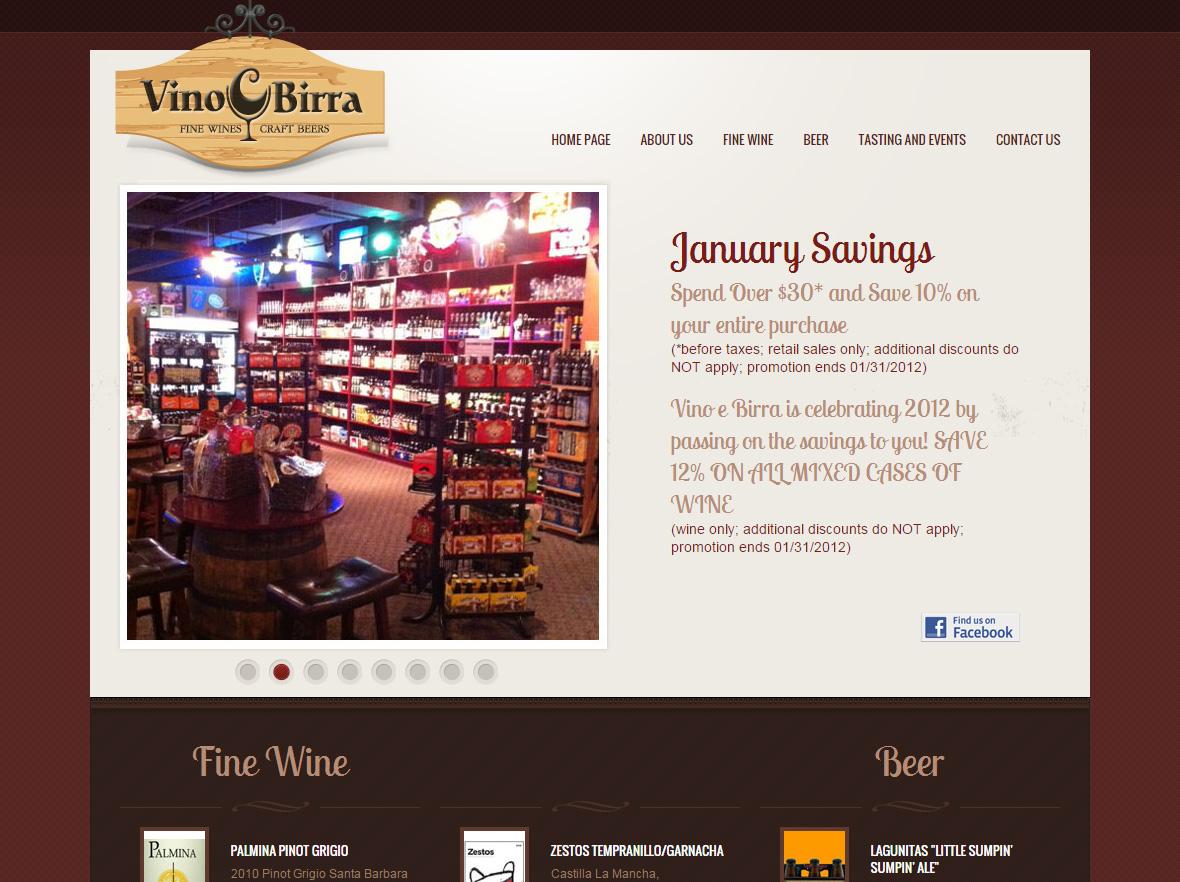 Vino And Birra, Wine Shop