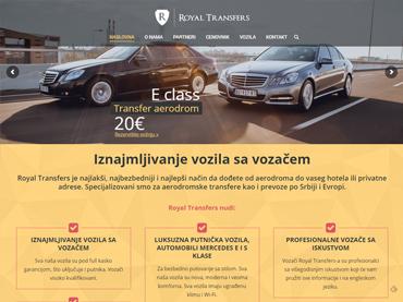 Autoprevoznik Royal transfers